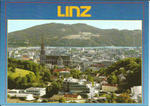 Linz, View from Freinberg & St. Mary's Cathedral