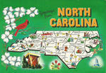 North Carolina, Tar Heel State, Old North State. Capital RALEIGH