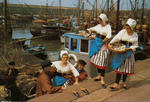 France, North Coast. Folklore of France. Costumes dating back to 1850
